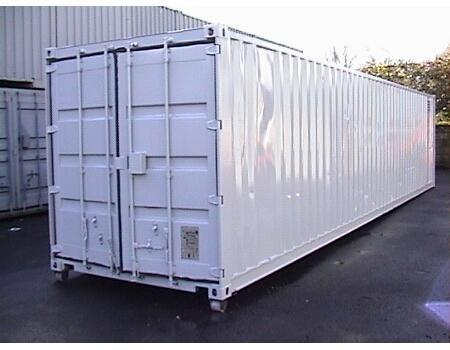 40 ft. blue cargo container_full